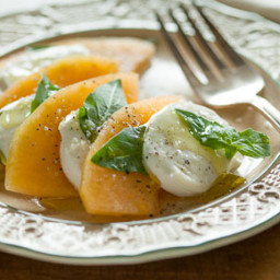 Summer Melon Caprese Salad