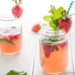 Summer Melon Rose Sangria