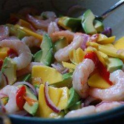Summer Prawn Salad