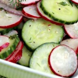 Summer Radish Salad Recipe