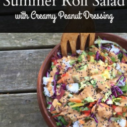 Summer Roll Salad