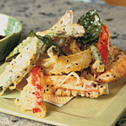 Summer Shrimp and Vegetable Tempura