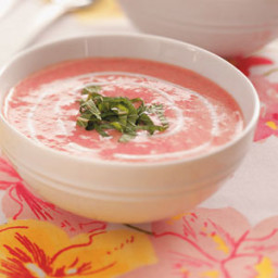 Summer Strawberry Soup Recipe