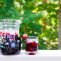 Summer Triple Berry Sangria with a Hint of Ginger. a Red Lobster Copycat