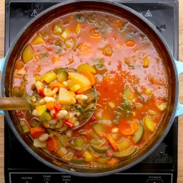 Summer Vegetable Minestrone Soup Recipe by Tasty