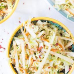 Summertime Asian Quinoa Slaw
