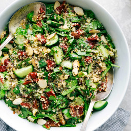 Sun Dried Tomato and Almond Couscous Salad