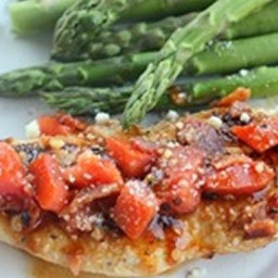 Sun-dried Tomato and Bacon Chicken
