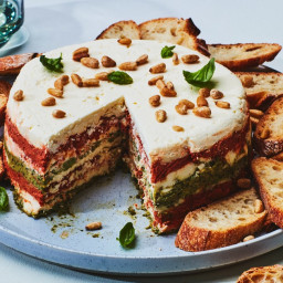 Sun-Dried Tomato and Pesto Torta