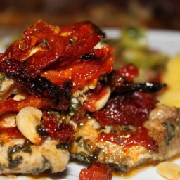 Sun Dried Tomato Chicken Bake ( by Sarah Fragoso )