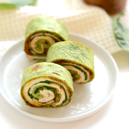 Sun-Dried Tomato Turkey Roll-Ups
