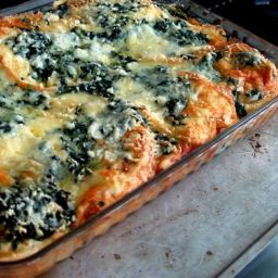Sunday Brunch: Spinach and Gruyère Strata