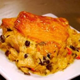 Sunny's Southwestern Chicken Pot Pie
