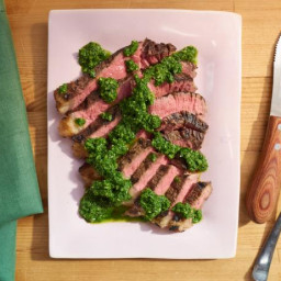 Sunny's T-Bone Steak with Any Herb Sauce