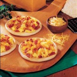 Sunrise Mini Pizzas Recipe
