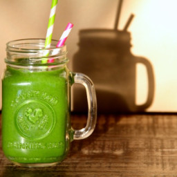 Sunshine in a Jar - Green Smoothie