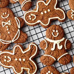 Super Easy Gingerbread Cookies