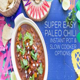 Super Easy Paleo Chili with Balanced Bites Spices