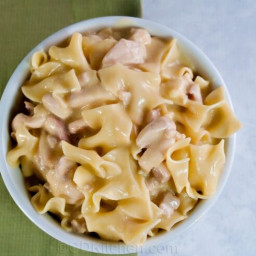 Super Easy Slow Cooker Chicken And Noodles