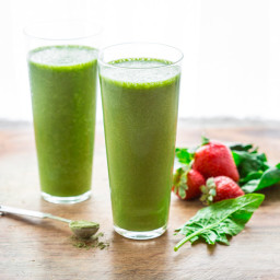 Super Green Tea Antioxidant Smoothie