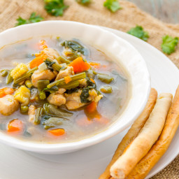Super Healthy Chicken Soup