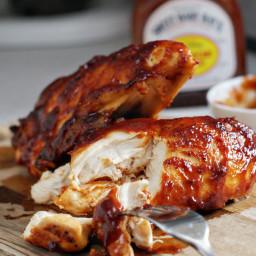 Super Moist Oven Baked BBQ Chicken