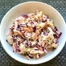 Super Sidekick Sesame Asian Coleslaw ~ Talking Meals