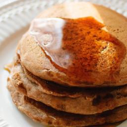 Super Simple Vegan Pancakes