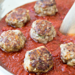 Super Tender Italian Meatballs