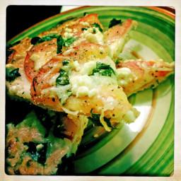 Super Three-Cheese Pizza Margherita