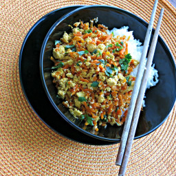 Supper Quick: Carrot and Tofu Toss