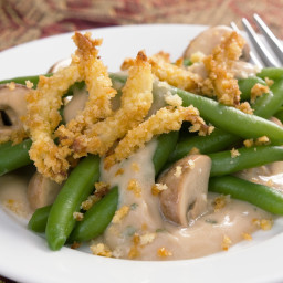 Supreme Holiday Green Bean Casserole