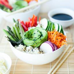 Sushi Salad Bowls