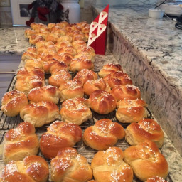 Swedish Coffee Bread (bullar)