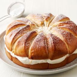Swedish Cream Bun Cake (Semla)