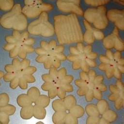 Swedish Ground Almond Spritz Cookies Recipe