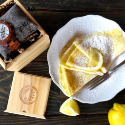Swedish Pancakes with Lemon