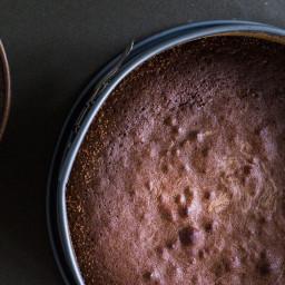 "Swedish ""Gooey"" Chocolate Cake (Kladdkaka)"