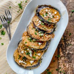 Sweet & Savory Spanish Eggplant