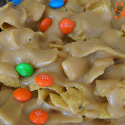 Sweet and Salty Peanut Butter Caramel Funky Fritos