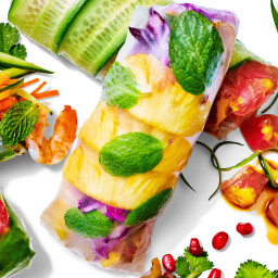 Sweet and Savory Mu Shu Pork Summer Rolls Are Crowd-Pleasers