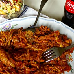Sweet and Smoky Coca Cola Pulled Pork