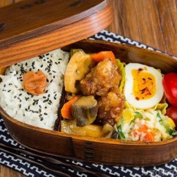 Sweet and Sour Chicken Bento