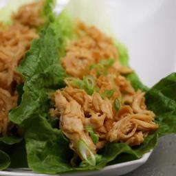 Sweet And Sour Chicken Lettuce Cups Recipe by Tasty