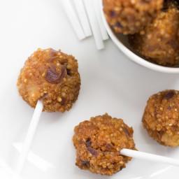 Sweet and Sour Quinoa Balls