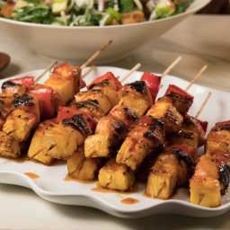Sweet-and-Sour Shish Kabobs