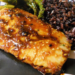 Sweet and Spicey Thai Glazed Mahi Mahi