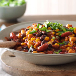 Sweet and Spicy Beans Recipe
