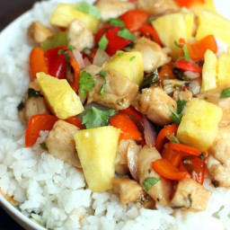 Sweet and Spicy Chipotle Chicken Stir-Fry