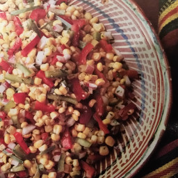 Sweet and Spicy Corn Salad